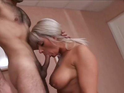 Hot mom & lucky guy