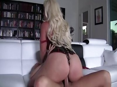 Crazy pornstar Alura Jenson in hottest blonde, creampie sex scene