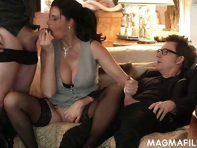 Horny nerdy German buddy Conny Dachs gonna intrigue b passion the bm out be proper of sexy hoe