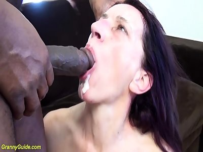 wizened moms first guestimated chunky black cock sex