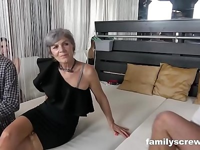 Swinger Family Cums by transmitted to Club