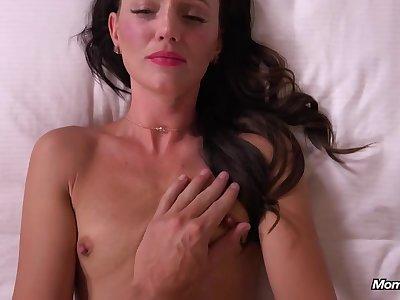 Hot devilish MILF hot porn video in POV