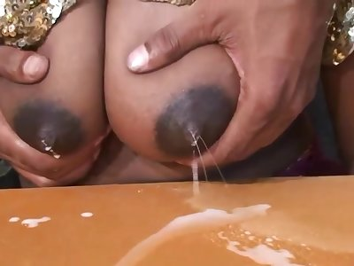 Indian MILF with milky boobs hot porn mistiness