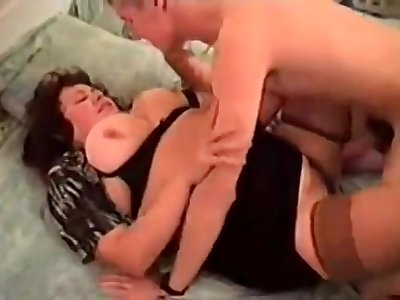 Fat Mom Cougar hardcore shtick
