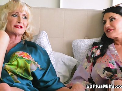 Here Bed With Leah L'amour And Rita Daniels - Leah L'amour And Rita Daniels - 60PlusMilfs