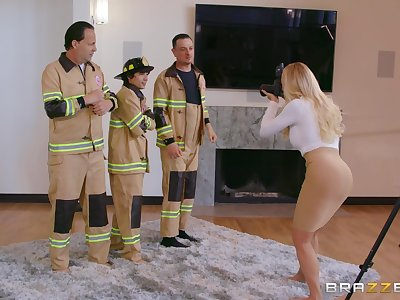 Fire fighters fuck curvy catholic during never boost innings