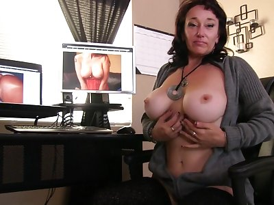 Make more attractive Sweet licks her nipples while fingering her juicy pussy