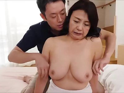 Asian mature slattern delightful making love scene